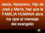 Evangelio del Domingo 29 de diciembre de 2013
