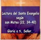 Evangelio del Domingo 26 de octubre de 2014