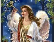 Felicitación de Navidad y Año Nuevo de Aurora y Angel