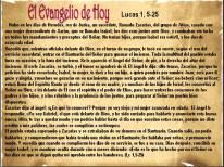 Lucas 1, 5-25
