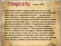Lucas 1 57-66