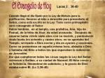 Lucas 2,  36-40