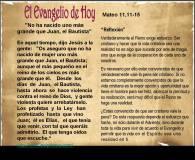 Mateo 11, 11-15