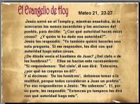 Mateo 21 23-27
