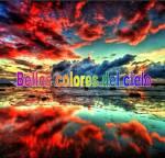 Bellos colores del cielo