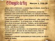 Marcos 1, 21b-28