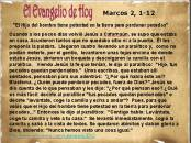 Marcos 2, 1-12