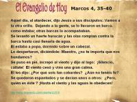Marcos 4, 35-40