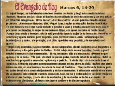 Marcos 6, 14-29