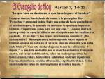 Marcos 7, 14-23