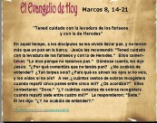 Marcos 8, 14-21