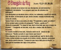 Juan 13, 21-33 36-38