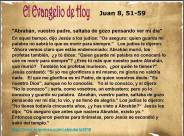 Juan 8, 51-59