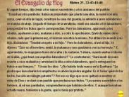 Mateo 21, 33-43.45-46
