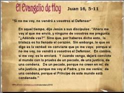 Juan 16, 5-11