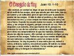 Juan 10- 1-10