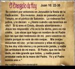 Juan 10, 22-30