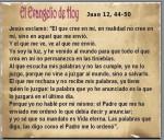 Juan 12, 44-50