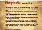 Juan 6, 35-40