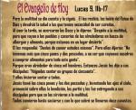 Lucas 9, 11b - 17