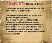 Marcos 10, 13-16