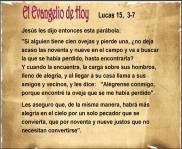 Lucas 15, 3-7