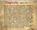Mateo 20, 20-28