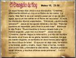 Mateo 19, 23-30