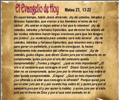 Mateo 23, 13-32