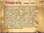 Lucas 6, 12-19